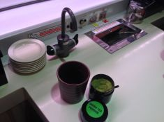 zielona herbata bez dna!